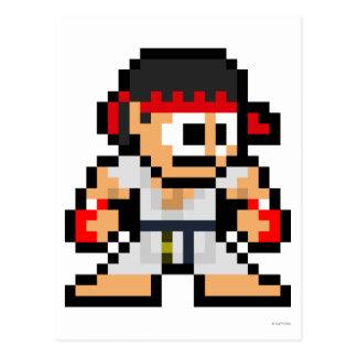 8-Bit Ryu Postcards