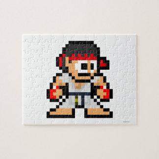 8-Bit Ryu Puzzle