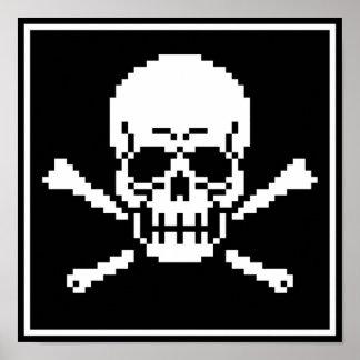 8 Bit Pixel Posters