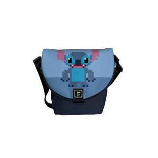 8-Bit Stitch Messenger Bag