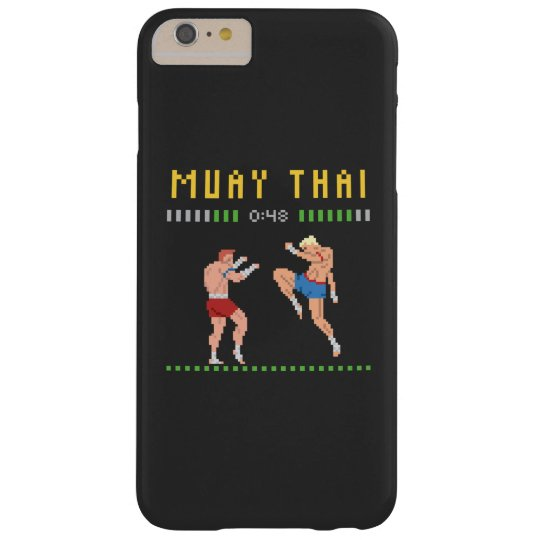 8-Bit Thai Boxing Barely There iPhone 6 Plus Case
