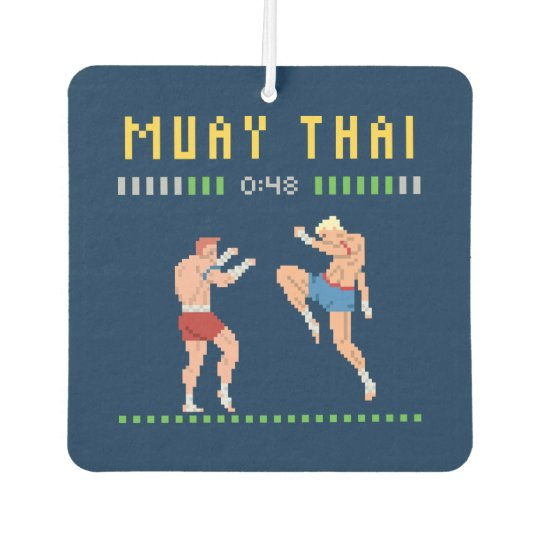8-Bit Thai Boxing Car Air Freshener