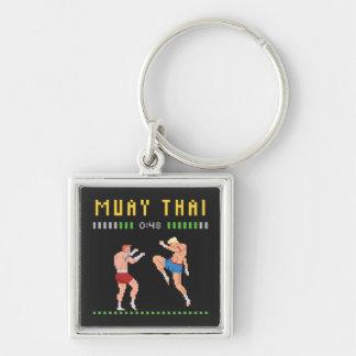 8-Bit Thai Boxing Keychain