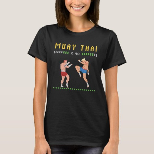 8-Bit Thai Boxing T-Shirt