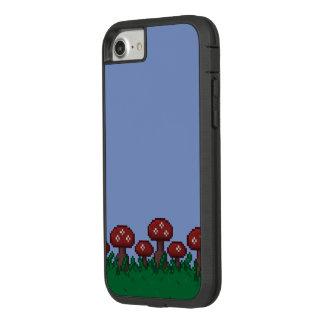 8-Bit Toadstool Garden Phone Case