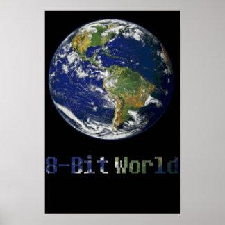 8-bit World Poster