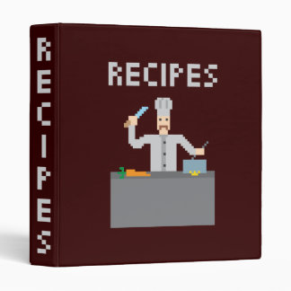 8 Bits Recipes Binder