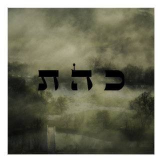 8 Defusing Negativity - 72 Names of God Poster