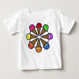 8 Ice Cream Cones #2 Baby T-Shirt