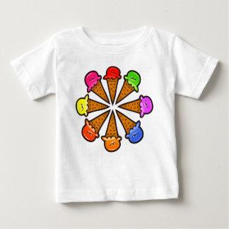 8 Ice Cream Cones #3 Baby T-Shirt