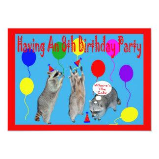 8 PERSONALIZED INVITES