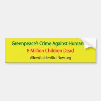 8 Million Dead Car Bumper Sticker