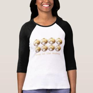 8 Monkeys Chinese New year 2016 H design T-Shirt