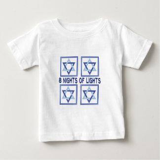 8 Nights Lights Baby T-Shirt