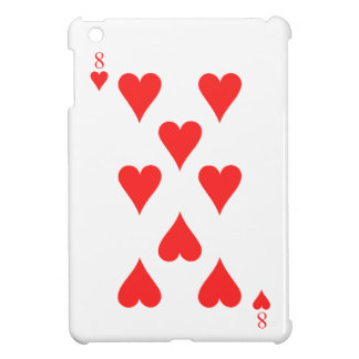 8 of Hearts iPad Mini Covers