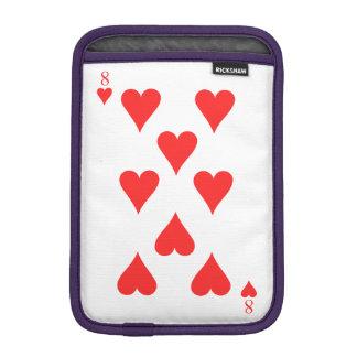 8 of Hearts iPad Mini Sleeve