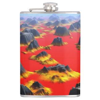 8 oz vinyl wrapped flask