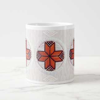 8 Pointed Star Quill Inspired Mug Design