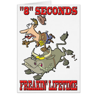 """8"" Seconds - Freakin' Lifetime Card"