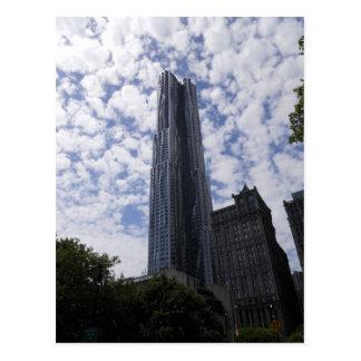 8 Spruce Street Skyscraper Postcard New York City