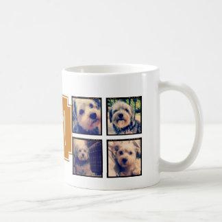 8 Square Photo Collage Instagram Frames Coffee Mug