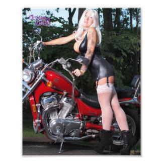 "8"" x 10""  Chrissy Kittens Red Rider Photo Print"