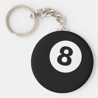 8ball keychain