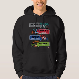 8Bit Avengers Attack Hooded Pullovers