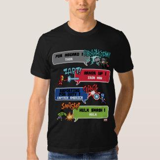 8Bit Avengers Attack T Shirts