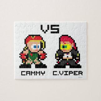 8bit Cammy VS C.Viper Jigsaw Puzzle