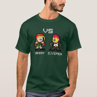 8bit Cammy VS C.Viper T-Shirt