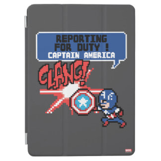 8Bit Captain America Attack - Reporting For Duty! iPad Air Cover