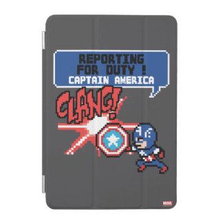 8Bit Captain America Attack - Reporting For Duty! iPad Mini Cover
