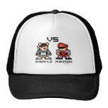 8bit Chun-Li VS M.Bison Hat