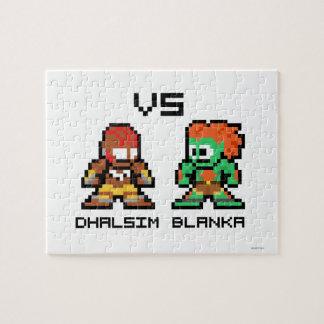 8bit Dhalsim VS Blanka Puzzle
