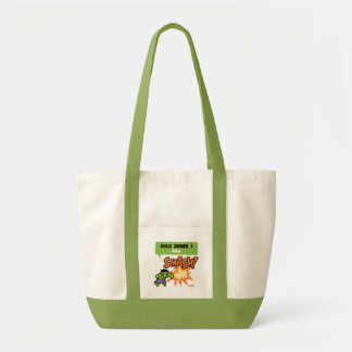 8Bit Hulk Attack - Hulk Smash! Impulse Tote Bag