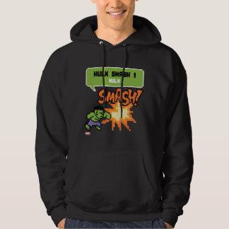 8Bit Hulk Attack - Hulk Smash! Sweatshirt