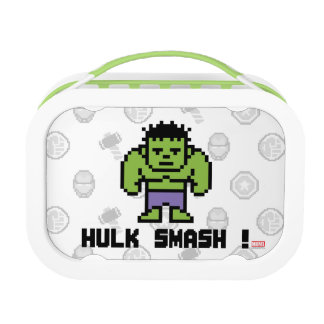8Bit Hulk - Hulk Smash! Lunchboxes