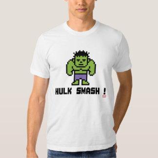 8Bit Hulk - Hulk Smash! Tee Shirt