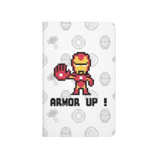 8Bit Iron Man - Armor Up! Journals