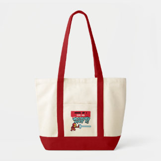 8Bit Iron Man Attack - Armor Up! Tote Bag