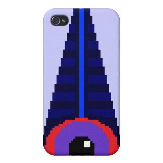 8Bit-Like Illuminati Cases For iPhone 4