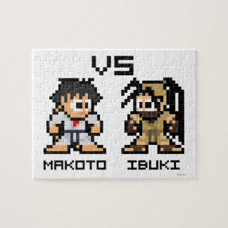 8bit Makoto VS Ibuki Puzzles