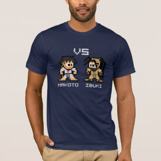 8bit Makoto VS Ibuki T-Shirt