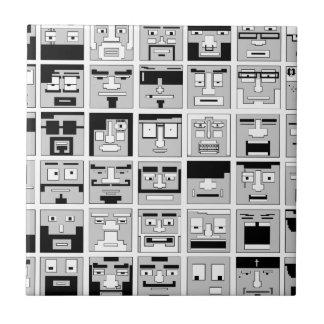 8bit Pixel Characters design Tiles