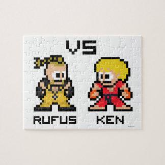 8bit Rufus VS Ken Puzzles