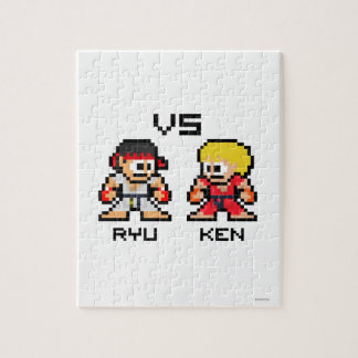 8bit Ryu VS Ken Puzzle
