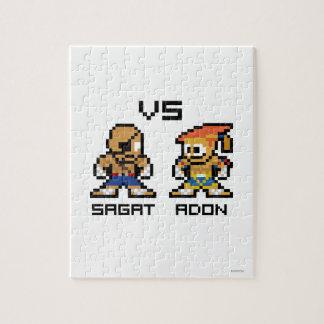 8bit Sagat VS Adon Puzzle
