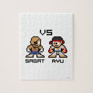 8bit Sagat VS Ryu Jigsaw Puzzle