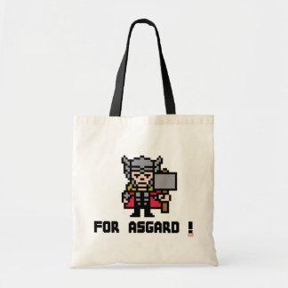 8Bit Thor - For Asgard! Budget Tote Bag